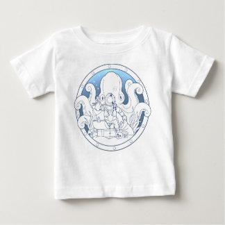 secretos del océano camiseta de bebé