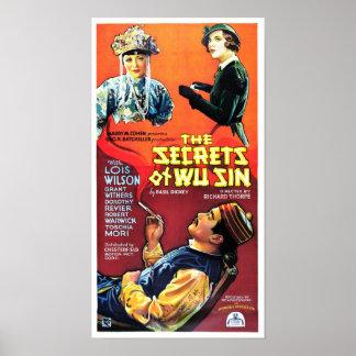 Secretos del pecado de Wu Póster