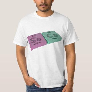 Secs como el selenio del SE y cesio del Cs Camisetas