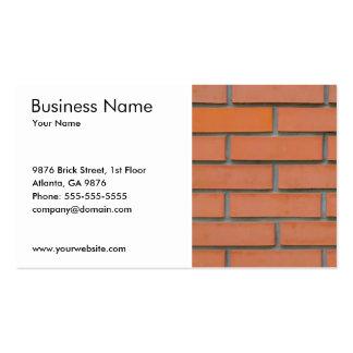Sector de la construcción simple de la tarjetas de visita