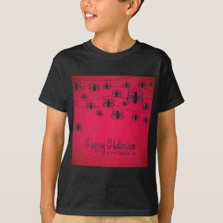Secuencia de la araña camiseta