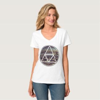 Secuencia genética - marca de tierra camiseta