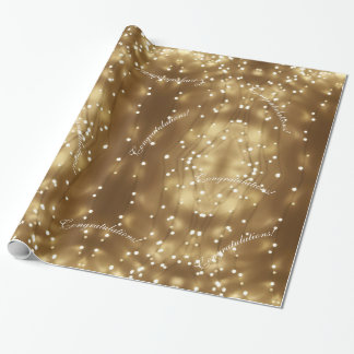 Secuencia geométrica elegante del modelo festivo papel de regalo