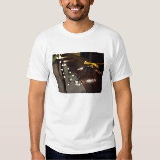 Secuencia ligera del LED Camiseta