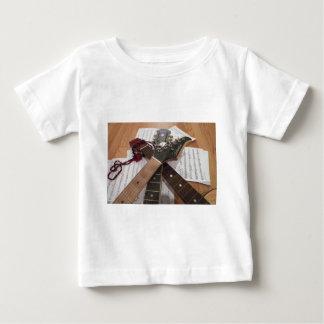 Secuencias y cosas camiseta de bebé