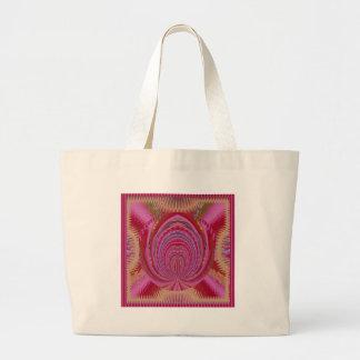Seda púrpura del satén del amor del corazón del bolsas