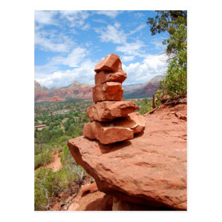 Sedona apiló la postal de las rocas del rojo