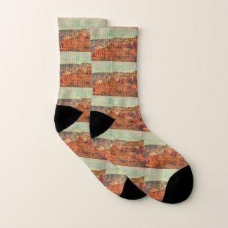 Sedona en calcetines del Grunge