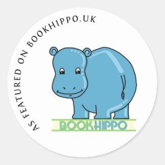 Según lo ofrecido en BookHippo.uk Pegatina Redonda