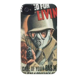 Segunda Guerra Mundial iPhone 4 Case-Mate Cárcasa