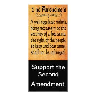 Segundas tarjetas de la ayuda de la enmienda lonas publicitarias