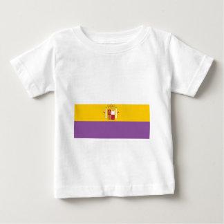 Segundo-español-república-Bandera Camiseta De Bebé
