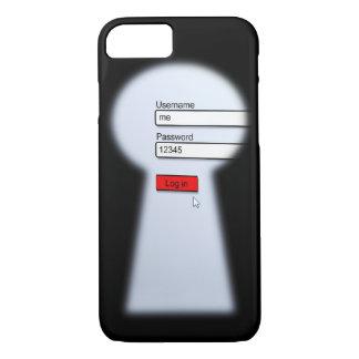 Seguridad de la contraseña funda iPhone 7