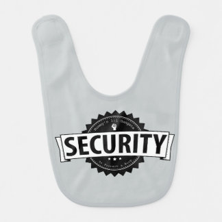 Seguridad de Lil de la momia - gris Babero