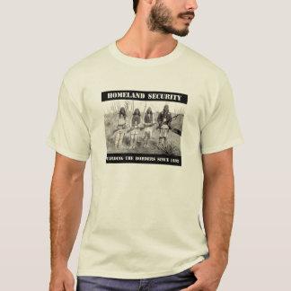SEGURIDAD de PATRIA que guarda las fronteras desde Camiseta