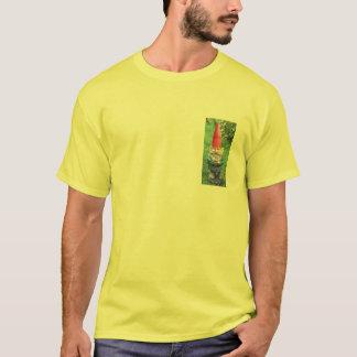 seguridad del gnomo del césped camiseta