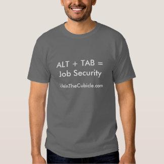Seguridad en el empleo camiseta