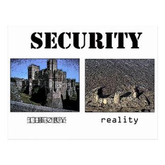 Seguridad - teoría y realidad postal