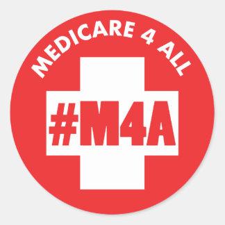 Seguro de enfermedad 4 todo el pegatina de #M4A