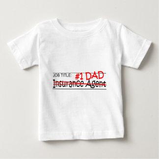 Seguro del papá del trabajo camisas