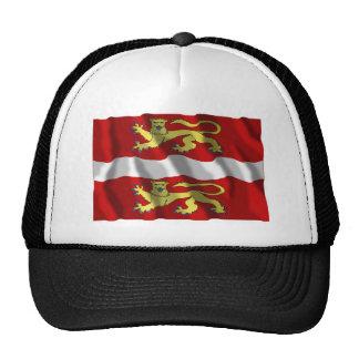 Seine-maritime que agita la bandera gorros bordados