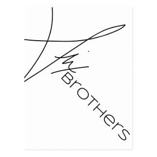 Seis hermanos postal