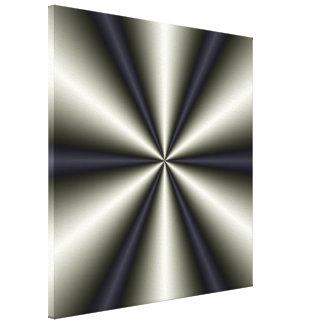 Seis impresiones de la lona de los conos lienzo envuelto para galerias