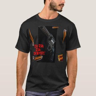 ¡Seis seis seis pistolas! Camiseta