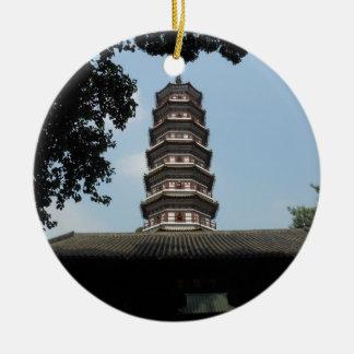 seis templos de la pagoda de los banianos ornato
