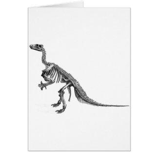 Selección del dinosaurio felicitacion