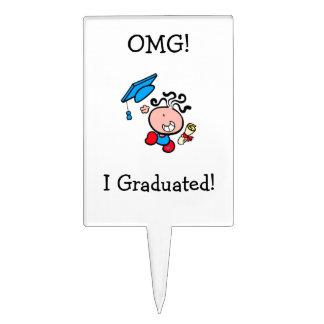 Selección graduada I de la torta de OMG Figuras De Tarta