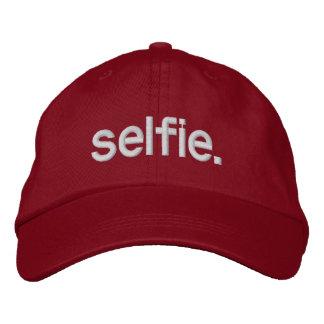 selfie. gorros bordados