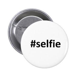 Selfie Hashtag Pin