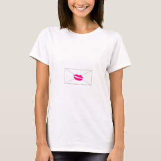 Sellado con un beso. / Sealed with a kiss. Camiseta