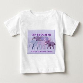Selle hacia fuera a Alzheimer Camiseta De Bebé