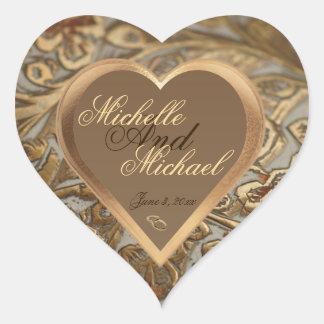 Sello adaptable del sobre del boda del recuerdo