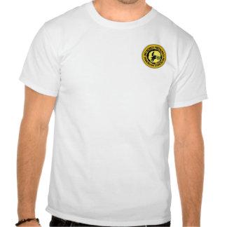 Sello agradable 1 del motocrós camiseta