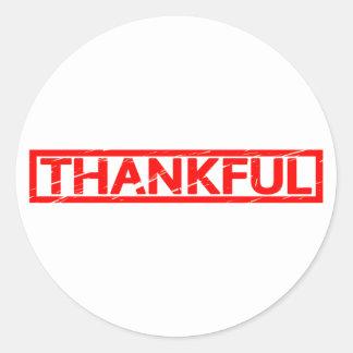 Sello agradecido