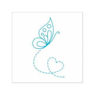 Sello Automático Corazón de la mariposa