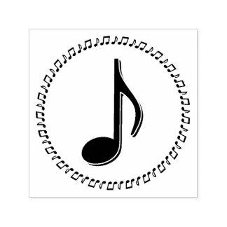 Sello Automático Diseño de la música de la octava nota