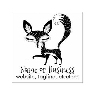 Sello Automático El Fox de Lil personalizó al uno mismo del texto