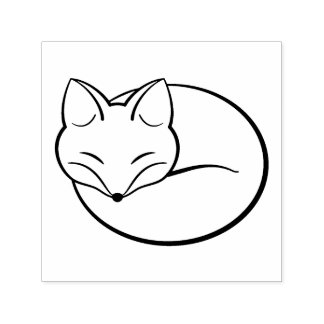 Sello Automático Fox estilizado el dormir