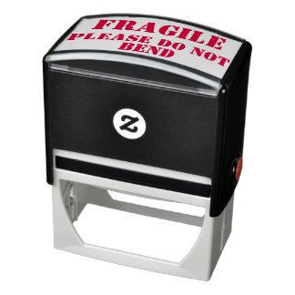 Sello Automático Frágil - no doble por favor (para el empaquetado