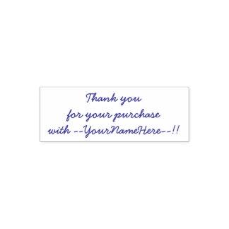 Sello Automático Gracias por su compra