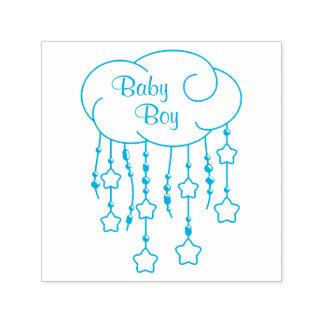 Sello Automático La nube gotea al bebé del móvil de las estrellas