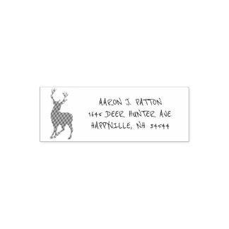 Sello Automático Remite del cazador de los ciervos