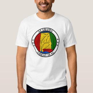 Sello de Alabama Camiseta