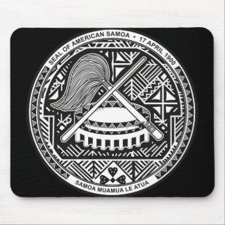 sello de American Samoa Alfombrillas De Ratón
