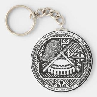 sello de American Samoa Llavero Personalizado
