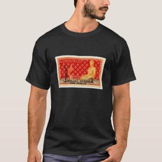 Sello de Buda del vintage de Laos Camiseta